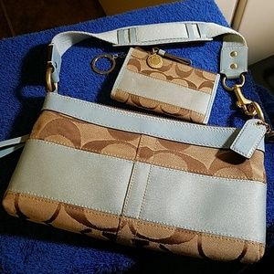 Coach Purse with Coin Wallet